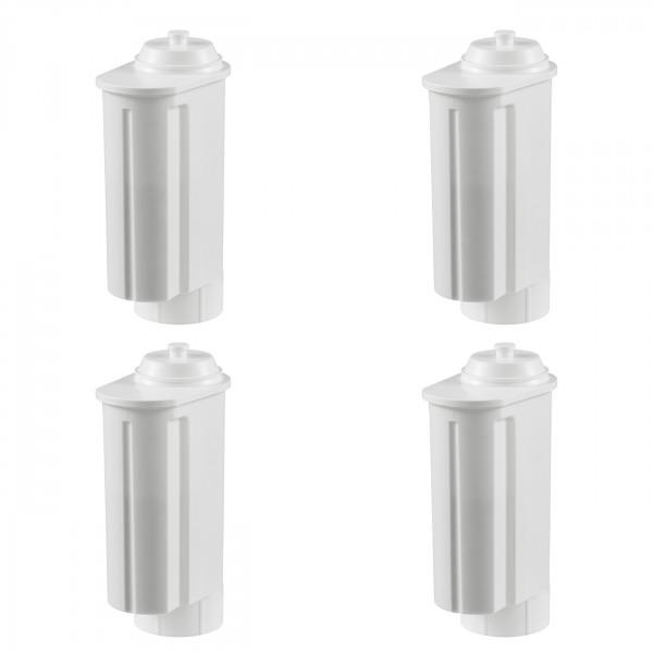 4 Filterpatronen geeignet für Siemens/Bosch, Gaggenau-, Neff-, VeroBar-Pro Kaffeevollautomaten